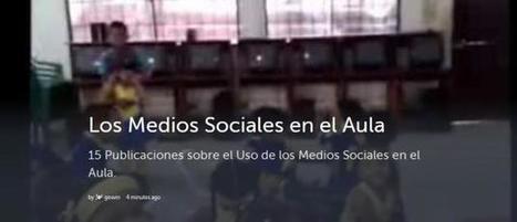 15 Recursos sobre el Uso de los Medios Sociales en el Aula   Educación con Innovación   Scoop.it