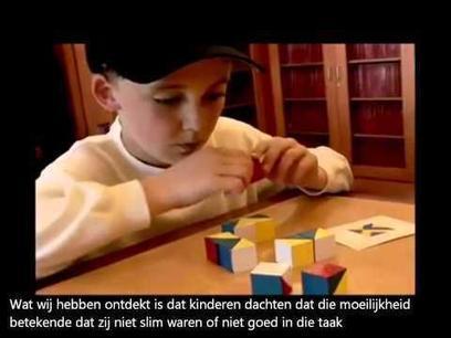 Mindset van carol Dweck, heel belangrijk bij het opvoeden van kinderen ! Prijs z... | Unique-Talentbegeleiding voor kinderen met Cognitief Talent | Scoop.it
