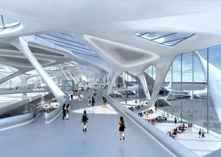 Zaha Hadid to Develop Plans for New London Airport | Innovative Design in Commercial Real Estate | Scoop.it