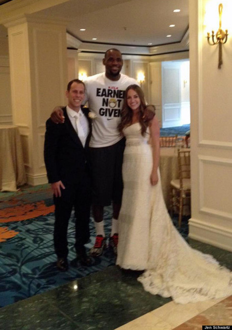 LeBron Surprises A Wedding | Huff Post Miami | Florida Wedding & Photography Tips, Ideas, Inspiration & Comic Relief | Scoop.it