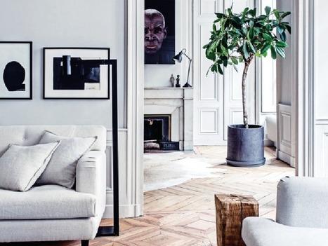 Ambiance chic dans un appartement lyonnais | décoration & déco | Scoop.it