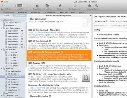 Lehrerfreund - Unterrichtsvorbereitung mit Evernote | Useful Tools for E-Learning | Scoop.it