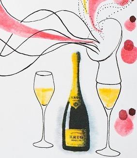 Champagne : Krug joue de la flûte pour donner à entendre ses bulles | The Champagne Scoop | Scoop.it