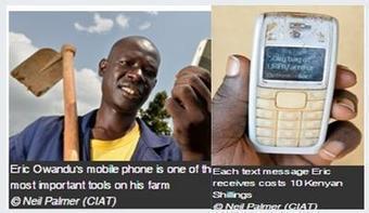 E-farming: a pilot program sending agronomic advice through mobile phones to over 1,600 farmers | e-Agriculture | TIC para el Desarrollo | Scoop.it