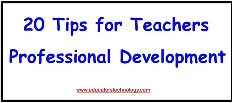 20 Ways Teachers Can Grow Professionally Through PLN's | college and career ready | Scoop.it