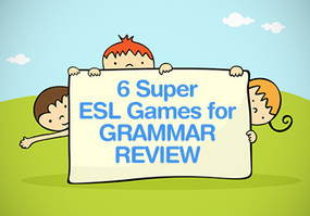 6 Super ESL Games for Grammar Review | EFL young adults and adults | Scoop.it