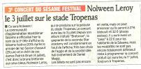 Nolween Leroy en concert à Montélimar le 3 juillet ! | Montélimar Agglo Festival 2014 | Scoop.it