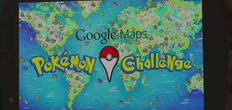 Pour le 1er avril, Google transforme Maps en gigantesque chasse aux Pokémon en réalité augmentée   Nouveaux horizons et innovation   Scoop.it