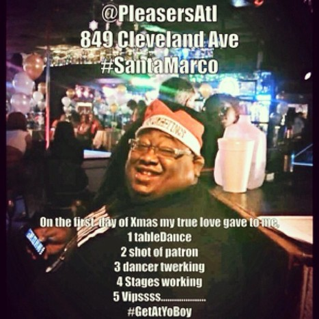 @PleasersAtL 849 Cleveland Ave.....Come on by and see #SantaMarco.  HappyHolidays | GetAtMe | Scoop.it