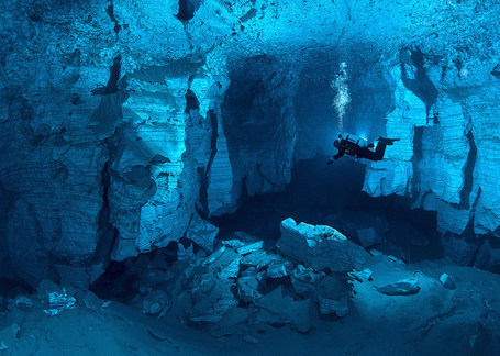 the worlds largest underwater cave (Russia) | My Photo | Scoop.it
