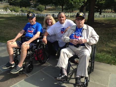 Strand and Lux Make History with Collier Honor Flight's Inaugural D.C. Trip | Millitary Matters | Scoop.it