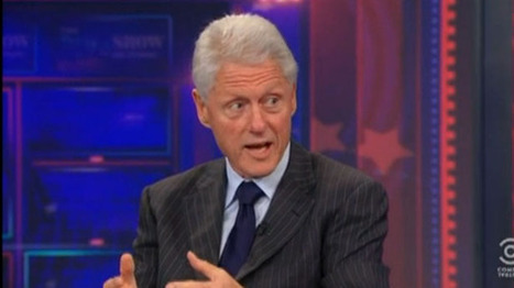 Bill Clinton tells Jon Stewart: Romney driven by ideology instead of evidence | Daily Crew | Scoop.it