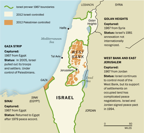 9 questions about Israel-Gaza you were too embarrassed to ask | Geogaphy 400 | Scoop.it