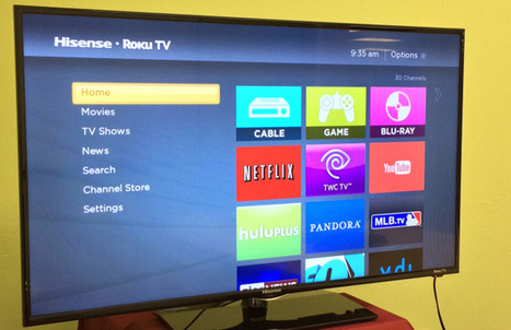 Roku Moves Beyond The Box, Partnering With Hisense And TCL To Introduce Roku TVs | television | Scoop.it