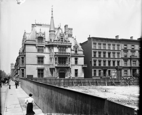 Daytonian in Manhattan: The Lost Wm. K. Vanderbilt Mansion -- 660 5th Avenue | William K Vanderbilt II | Scoop.it