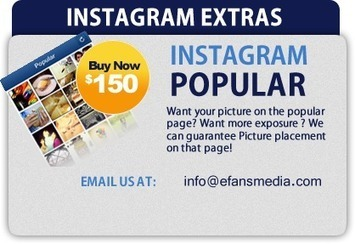 eFans Media- Buy twitter followers facebook likes youtube downloads and cheap web traffic | Social Media | Scoop.it