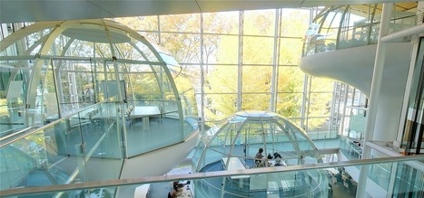 "University library in Tokyo may be world's coolest with its ""floating"" meeting rooms【Pics】 