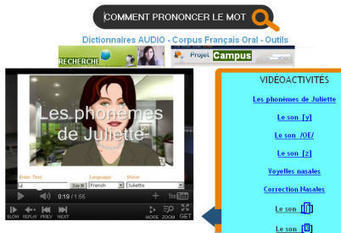 Corpus et Dictionnaires de Prononciation – Campus FLE Education | Remue-méninges FLE | Scoop.it