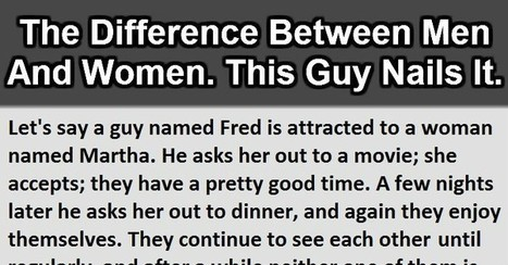 The Difference Between Men And Women. This Is Genius. | Humour | Scoop.it