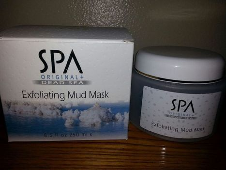 Spa Cosmetics Original Dead Sea Exfoliating Mud Mask 8.5 Oz. From Israel | Best Skin Care Products | Scoop.it