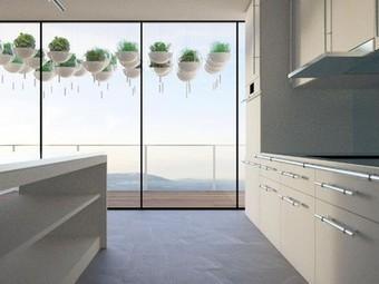 Hanging Gardens Make Sleek Use of Small Balconies | Vertical Farm - Food Factory | Scoop.it