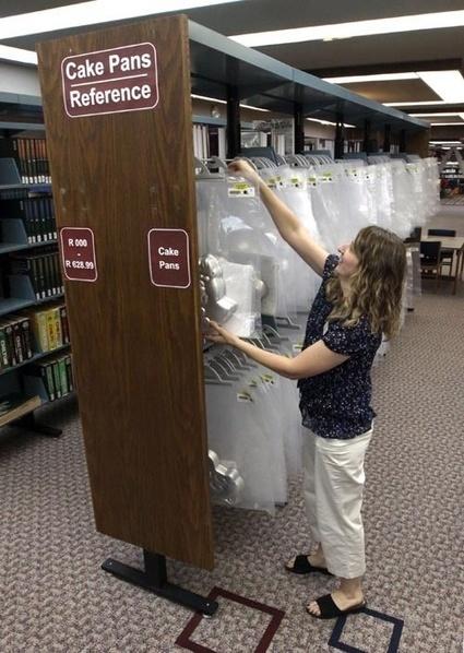 Une bibliothèque qui prête des moules à tartes, original non? | BiblioLivre | Scoop.it