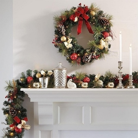 10+ Christmas Garland Decorating Ideas | Moms | Scoop.it