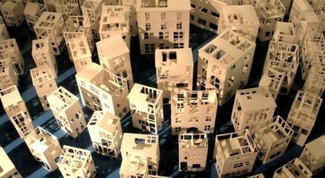 Strong And Light: Paper Architecture at Cité de l'Architecture et du Patrimoine | The Architecture of the City | Scoop.it