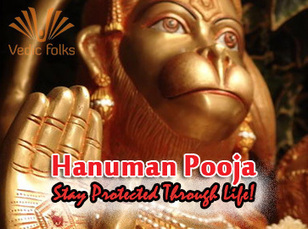 Hanuman Pooja | Lord Anjaneya | Online Pujas - Vedic Folks | Pooja | Scoop.it