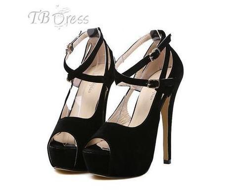 Classic Black Peep-toe Stiletto Heels Platform Women Pumps   women fashion&clothing   Scoop.it