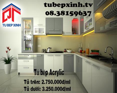 Tủ bếp Acrylic nhà chị Thảo Như tại Bình Tân | Tủ bếp, tủ bếp hiện đại với thiết kế đẹp, mang niềm vui đến gia đình bạn | Scoop.it