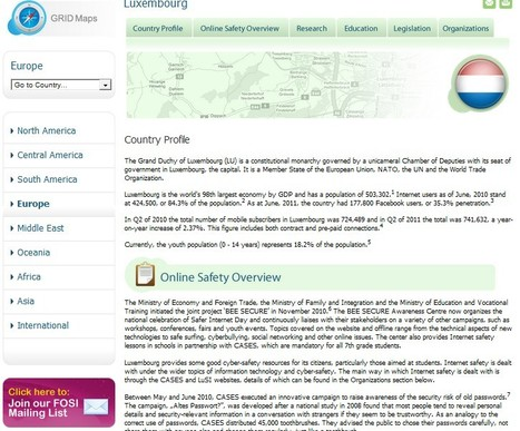 The Family Online Safety Institute's (FOSI) | Luxembourg | Europe | Luxembourg (Europe) | Scoop.it