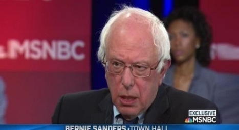Bernie Sanders won't encourage supporters to vote for Hillary Clinton in November | Global politics | Scoop.it