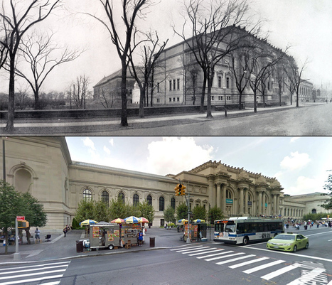 Fifth Avenue Then and Now, a Century of Streetviews in NYC | Vintage and Retro Style | Scoop.it