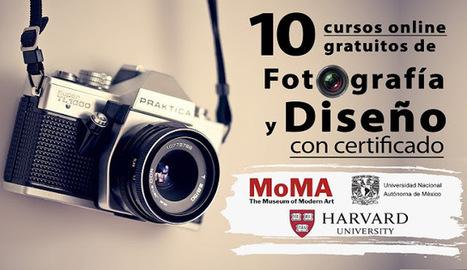 10 cursos online gratuitos de Fotografía y Diseño (con certificado) | LabTIC - Tecnología y Educación | Scoop.it