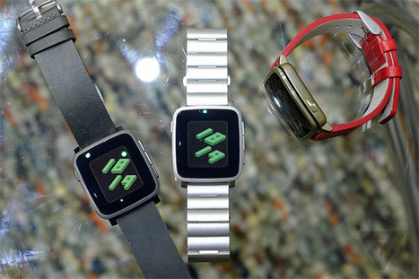 Pebble Time Goes Premium @MWC15 with Stainless Steel and Metal | Android mobiles | Scoop.it