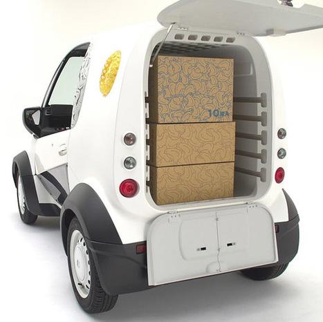 Honda imprime en 3D un véhicule électronique compact de livraison ‹ infohightech | Axeal- revue de presse _ commerce | Scoop.it