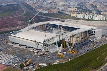 Race Against Time on Final Brazil World Cup Stadiums - Bleacher Report | 2014 World Cup | Scoop.it