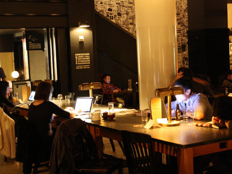 Inside New York's Trendiest Place To Work, The Lobby Of The Ace Hotel | new society | Scoop.it