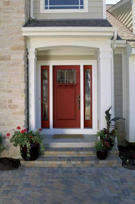 Rethinking color: Front doors that go pop - St. Cloud Times | doors | Scoop.it