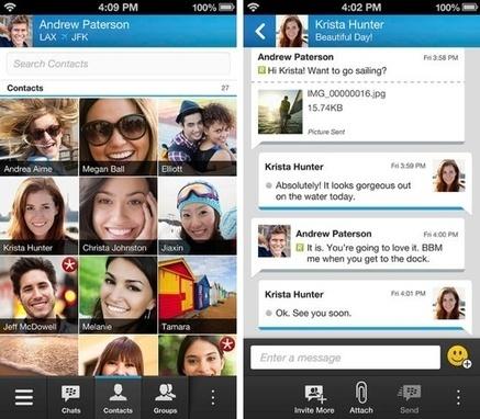 BBM sur iPhone restera gratuit et apportera de nouvelles ... | tendances technologies web et mobiles | Scoop.it