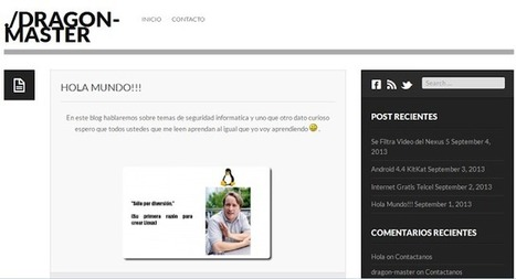 Web recomendada: ./Dragon-Master : hackplayers | Big and Open Data, FabLab, Internet of things | Scoop.it
