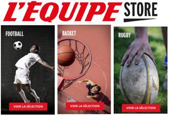 L'Equipe se lance dans la vente en ligne d'articles de sport | DocPresseESJ | Scoop.it