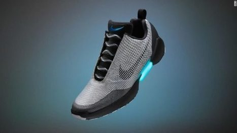 Nike et le pari de la chaussure à laçage automatique   L'innovation dans la filière cuir   Scoop.it