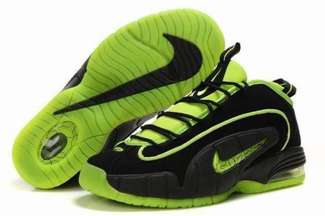 Nike Air Max Penny 1 Men's Black/Green | new and popular list | Scoop.it