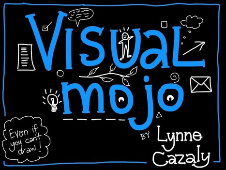 Lynne Cazaly collaboration communication smart teams visual  - graphic recording visual mojo online | Graphic Coaching | Scoop.it