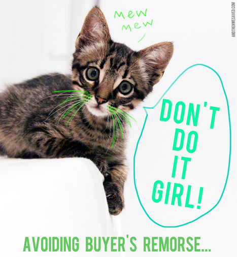 Don't Do It! 5 Tips for Avoiding Buyer's Remorse - And Then We Saved   Consumismo en la sociedad mexicana   Scoop.it