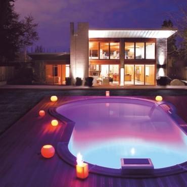 Eclairage de la piscine | Piscine de rêve | Scoop.it