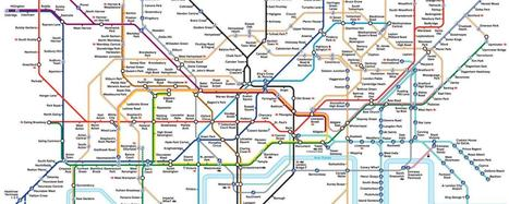 The London Underground map: The design that shaped a city | M-learning, E-Learning, and Technical Communications | Scoop.it