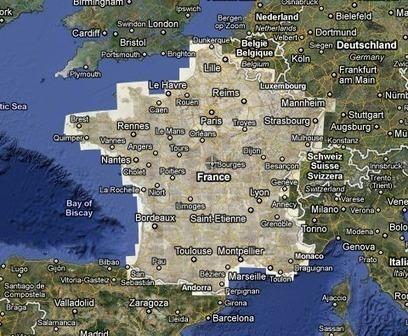 La Carte de Cassini et le service de cartographie Google Map réunis - Info-Histoire.com | Cartographie culturelle | Scoop.it